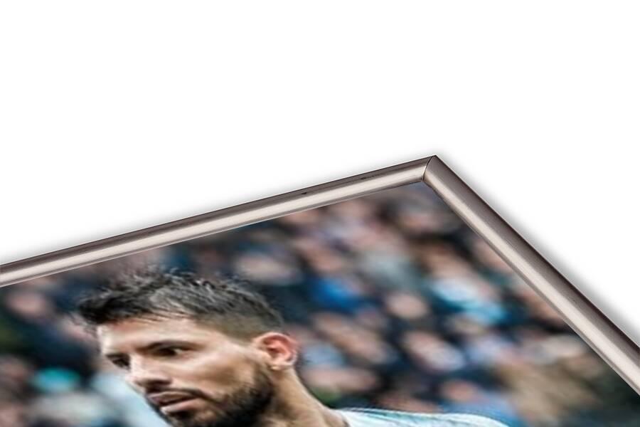 Manchester City - Aguero 18-19 Poster