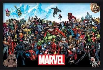 Marvel - Universe  Ingelijste poster