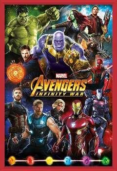 Avengers: Infinity War – Characters  Ingelijste poster