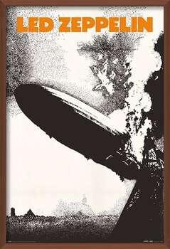 Ingelijste poster Led Zeppelin - Led Zeppelin I
