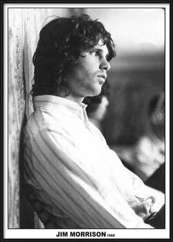 Ingelijste poster Jim Morrison - The Doors 1968