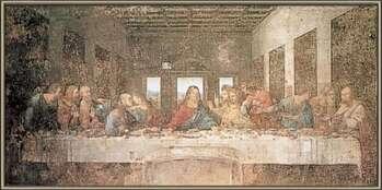 Ingelijste poster The Last Supper