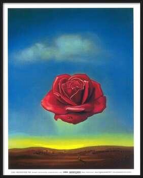 Ingelijste poster Meditative Rose, 1958