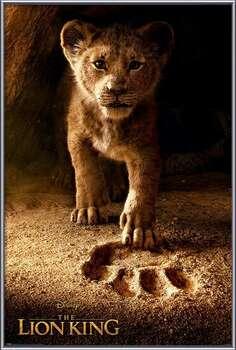 Ingelijste poster The Lion King - Future King