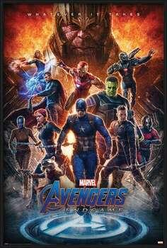 Ingelijste poster Avengers: Endgame - Whatever It Takes