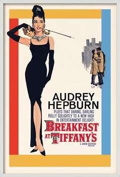 Ingelijste poster AUDREY HEPBURN - one sheet