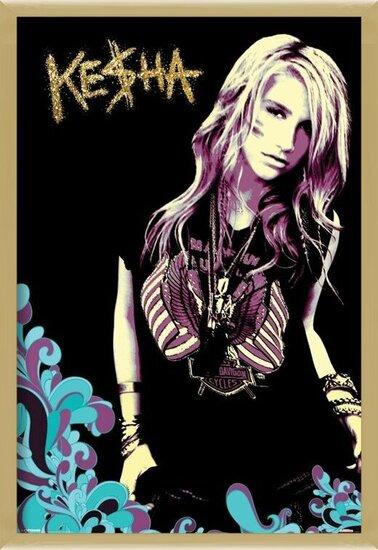 Kesha - retro Poster