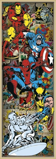MARVEL COMICS - heroes Poster