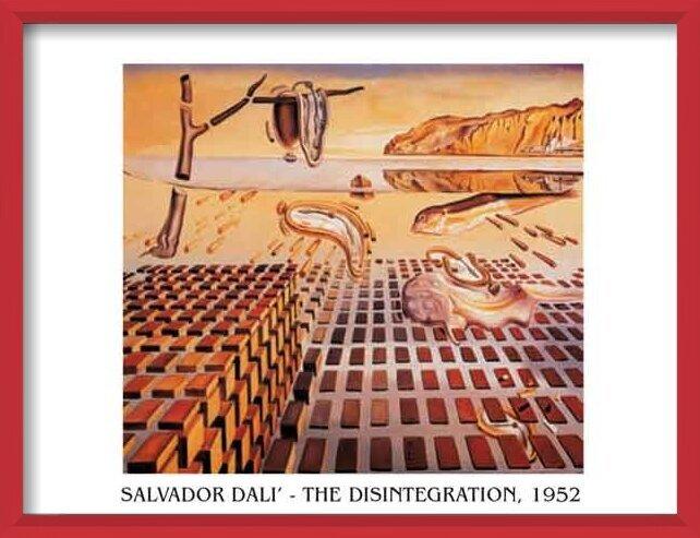 The Disintegration of the Persistence of Memory, 1952-54 Kunstdruk