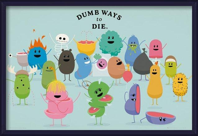 Dumb Ways to Die - Characters Poster