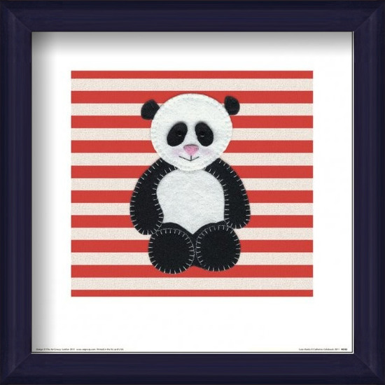 Catherine Colebrook - Panda Kunstdruk