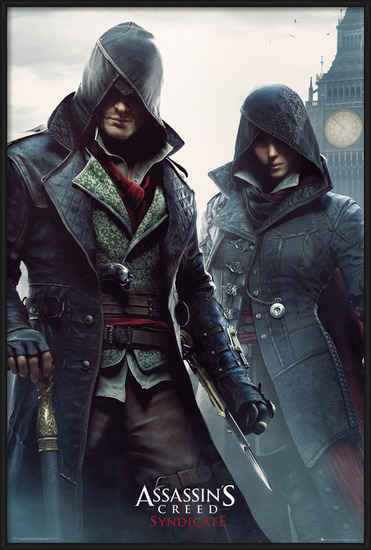 Assassin's Creed Syndicate - Siblings Poster