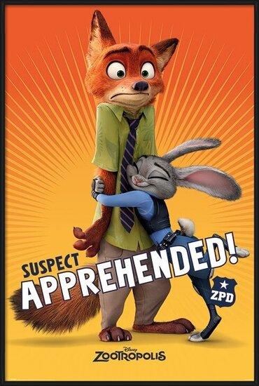 Zootropolis - Suspect Apprehended Poster