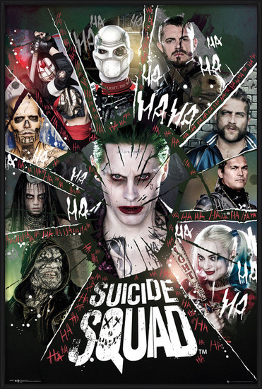 Suicide Squad - Circle Poster