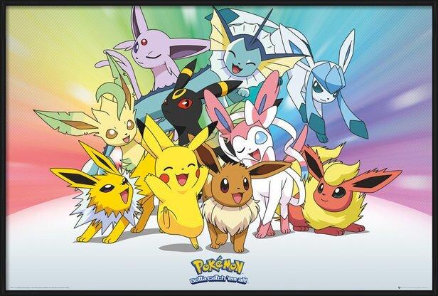 Pokemon - Eve Poster