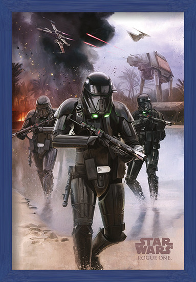 Rogue One: Star Wars Story - Death Trooper Beach Poster