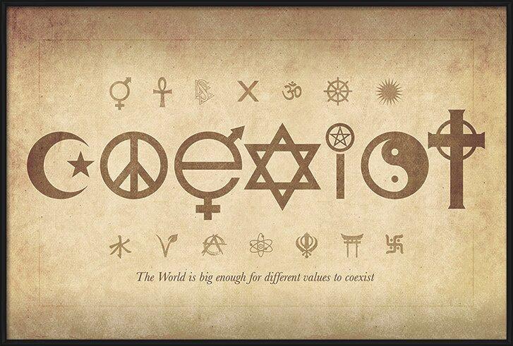 Coexist - Maxi Poster Poster