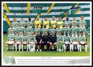 Celtic - Team 04/05 Poster