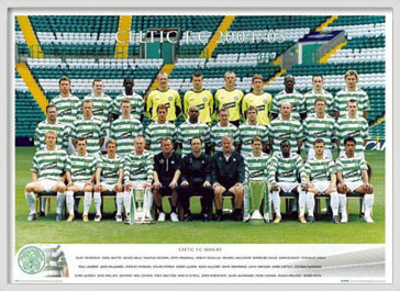 Celtic - Team 04/05 Poster