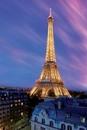 Eiffel tower - at dusk