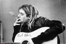 Kurt Cobain - smoking